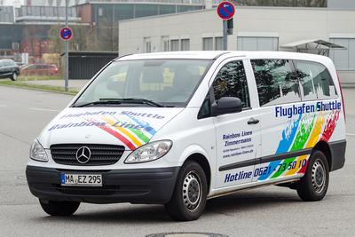 Rainbow Lines Mannheim Bus Transport Shuttle