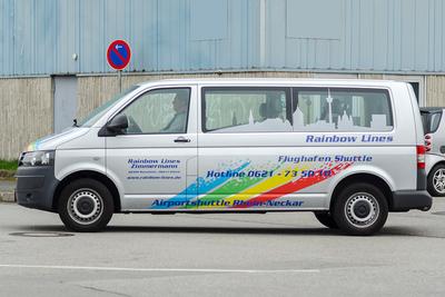 Rainbow Lines Mannheim - Busshuttle, Transporter, Personen, Beförderung